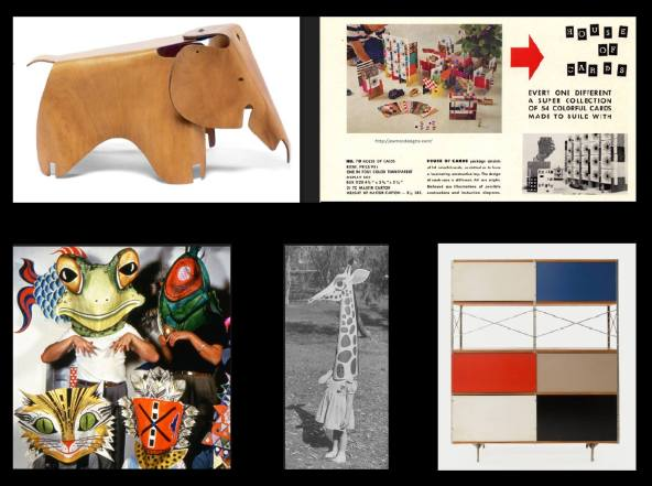 EAMES TOYS COLLAGE